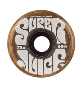 OJ wheels OJ 60mm Super Juice Gold 78a wheels (set of 4)