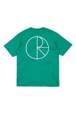 Polar Polar Stroke Logo T-shirt - Green (LARGE)
