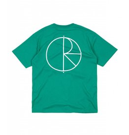 Polar Polar Stroke Logo T-shirt - Green (LARGE)