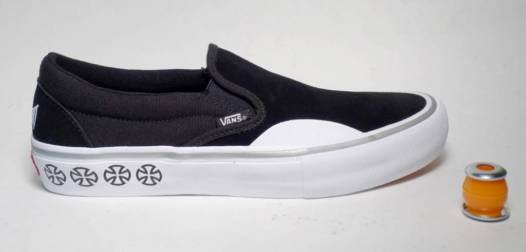 e573468ceb2ae3 Vans x Independent Slip on Pro - Black White - FA SKATES