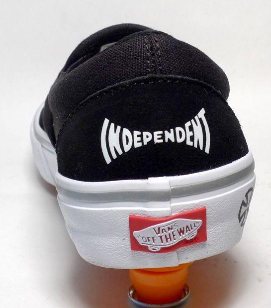 Vans Vans x Independent Slip on Pro - Black/White (size 10.5 or 13)