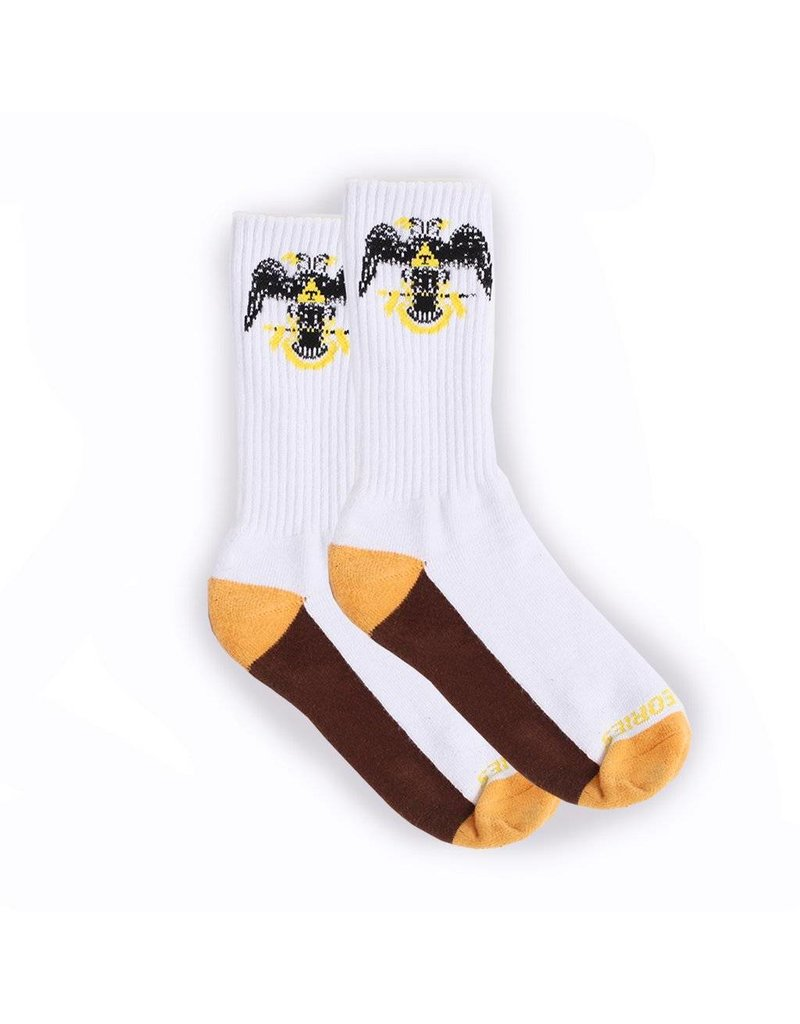 Theories Brand Theories 33rd Degrees Sock - White