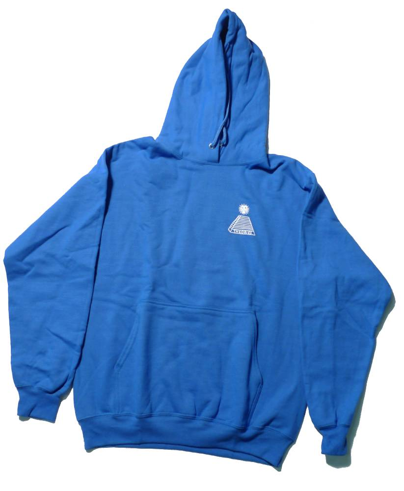 Theories Brand Theories Scribble Pullover Hoodie - Royal (size Small or Medium)