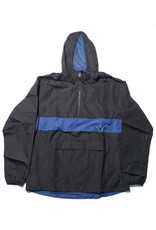Theories Brand Theories Brand Stamp Sport Jacket - Black/Royal (size Medium or X-Large)