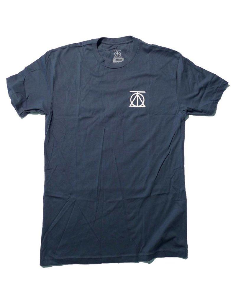 Theories Brand Theories Crest T-shirt - Indigo