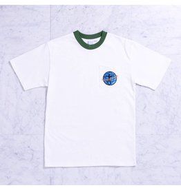 Quasi Quasi World Peace Pocket T-shirt - Forest (size Small or Large)