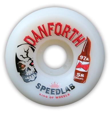 Speedlab Wheels Speedlab Danforth 58mm 97a Wheels (Set of 4)