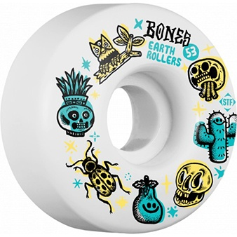 Bones Wheels Bones STF v 51mm Sieben Earth Rollers 103a Wheels (set of 4)