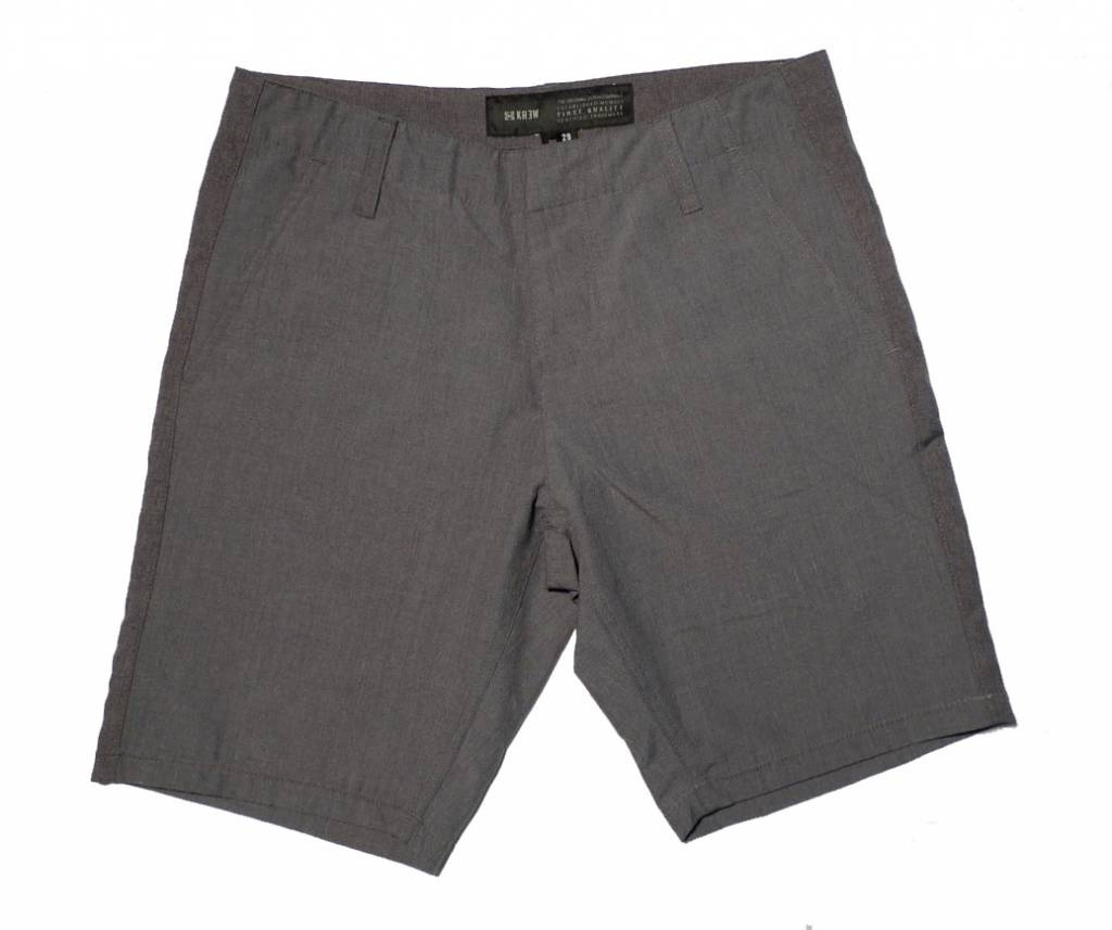 Krew Krew Delivery Shorts - Heather Grey (size 28)