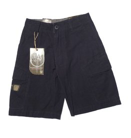 Volcom Crimson Youth Shorts - Navy (size 22)