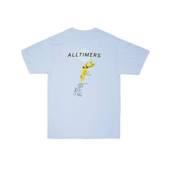 Alltimers Alltimers Time Zone T-shirt - Powder Blue