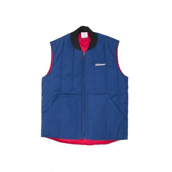 Alltimers Alltimers Delivery Vest - Blue/Red