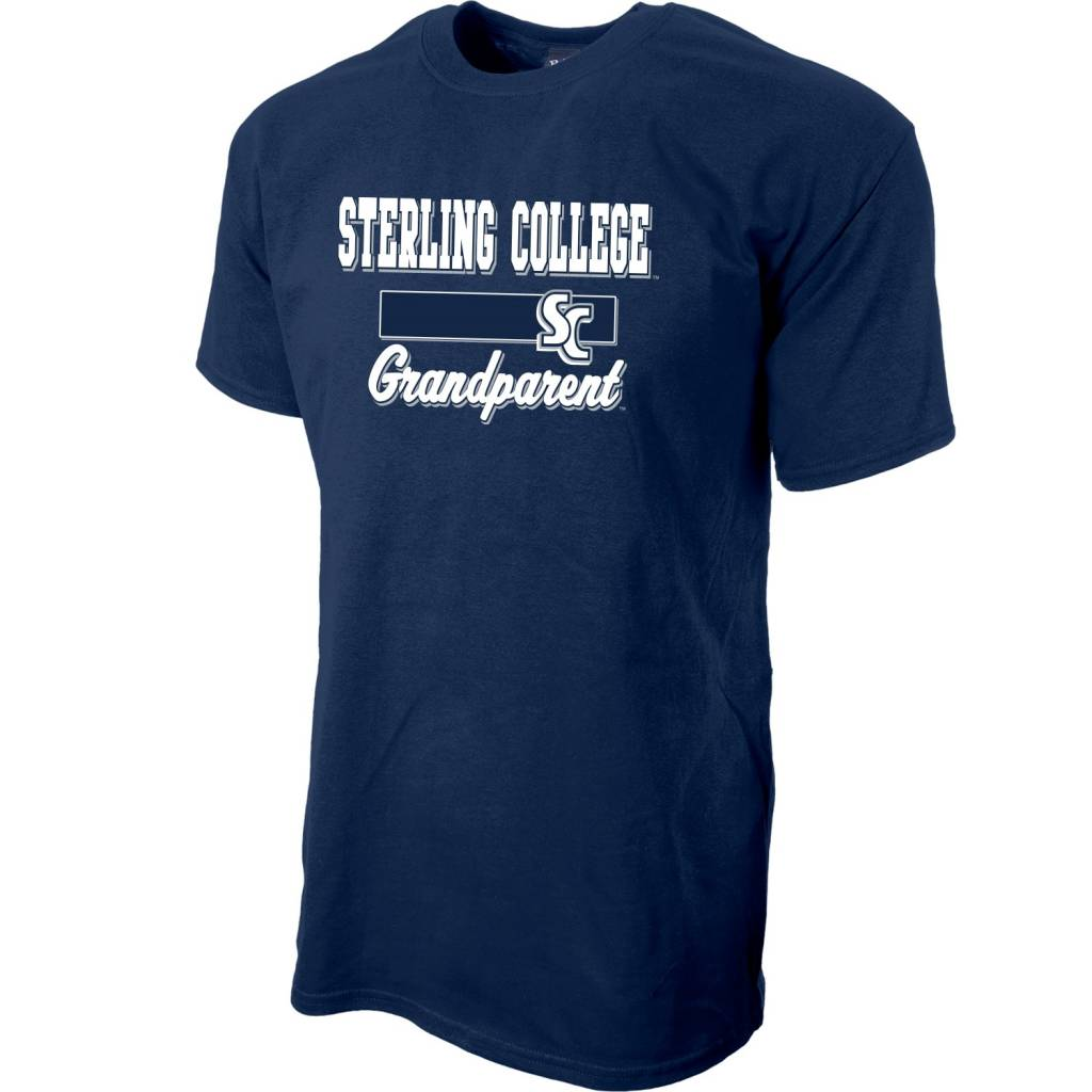 Blue 84 Grandparent T-Shirt - Navy Blue -