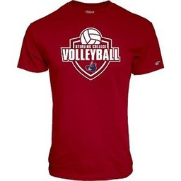 Blue 84 Volleyball Tee - Cardinal
