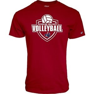 Blue 84 Volleyball Tee - Cardinal -
