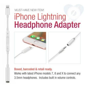 iPhone Lightning Headphone Adapter