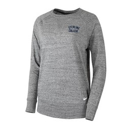Nike Gym Vintage Crew - Carbon Heather -