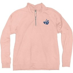 Blue 84 Sanded Fleece 1/4 Zip - Shell Pink -