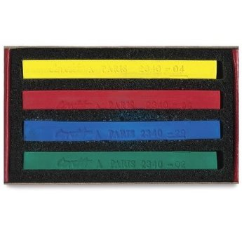 Conte Crayons- Matchbox Set of 4 Primary Colors