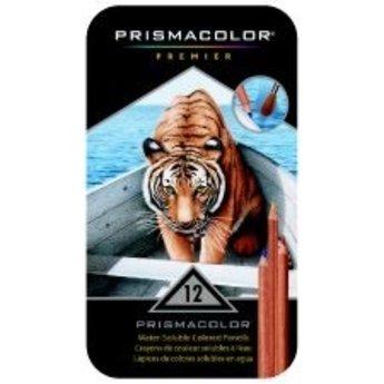 Prismacolor® Watercolor Pencils; Assorted Colors, 12/ct