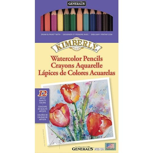 Kimberly Watercolor Pencil 12 Color Set