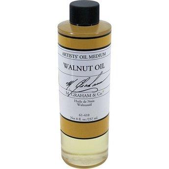 WALNUT OIL, 8 OZ.