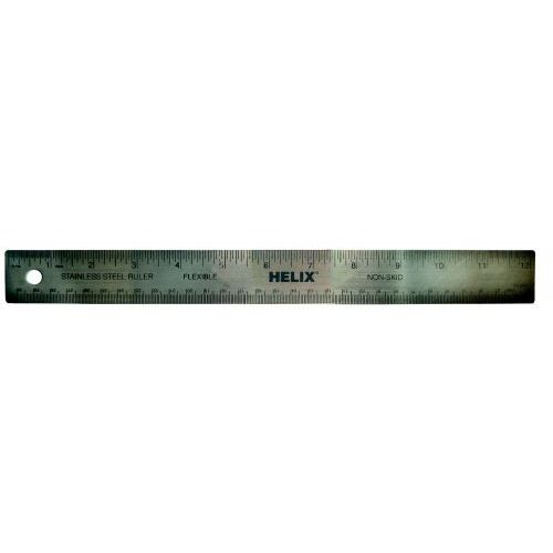 """Helix 12"""" Stainless Steel Ruler"""