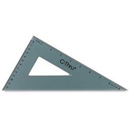 C-Thru Triangle, 30/60 Degrees, 10""