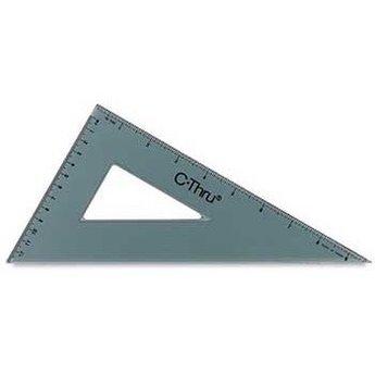 "C-Thru Triangle, 30/60 Degrees, 10"""
