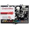 Conté Crayons, Set of 12 Assorted Colors