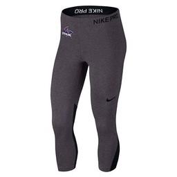 Nike Pro Capri - Charcoal Heather -