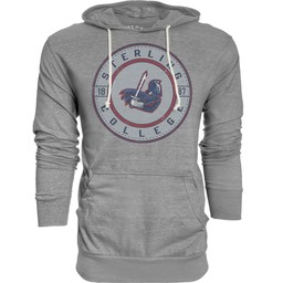 Blue 84 Tri-Blend Hooded Tee - Heather Grey