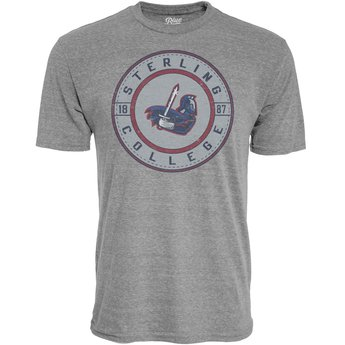 Blue 84 Tri-Blend Tee - Heather Grey