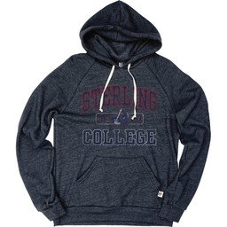 Blue 84 Tri-Blend Fleece Raglan Hood - Navy Blue