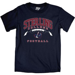 Blue 84 Ringspun Football Tee - Navy Blue