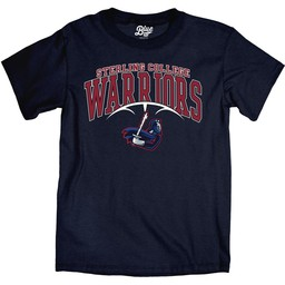 Blue 84 Ringspun Basketball Tee - Navy Blue