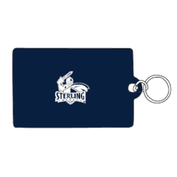 ID Holder, Vinyl Ziplock, Navy
