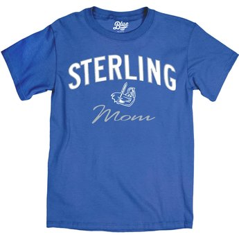 Blue 84 Ringspun Mom Tee - Cali Blue