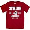 Blue 84 Ringspun Alumni Tee - Cardinal Red
