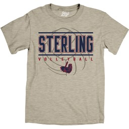 Blue 84 Ringspun Volleyball Tee - Oatmeal