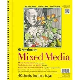 "Strathmore 300 Series Mixed Media Pad, 9""x12"""
