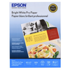"Epson Bright White Pro Paper - 8.5"" x 11"" - single sheet"