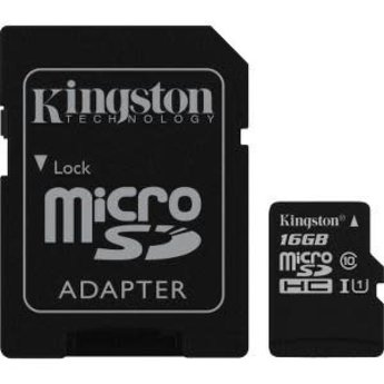 Kingston 16 GB Class 10 microSDHC