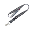 """Lanyard with Buckle, Wincraft, 1"""" - Grey"""