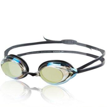 Speedo Vanquisher 2.0 Mirrored Goggle - Speedo Black