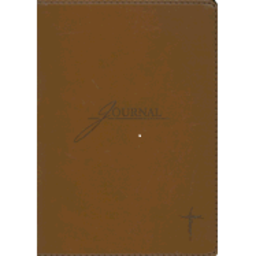 Journal: Brown with Cross