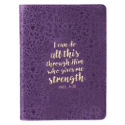 Journal: Purple I Can Do All This