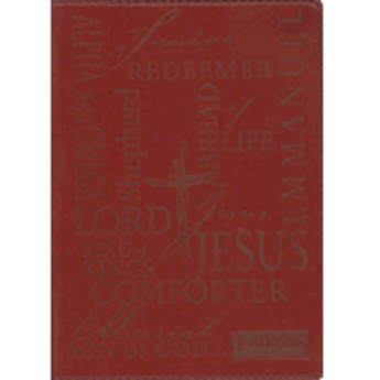 Journal: Red Names of Jesus