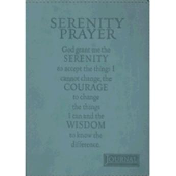 Journal: Turquoise Serenity Prayer