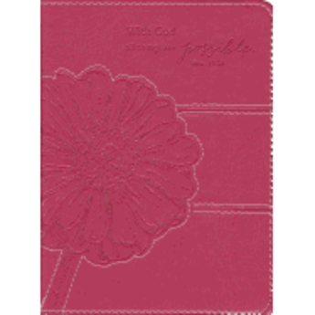 Journal: Pink With God All Things Possible